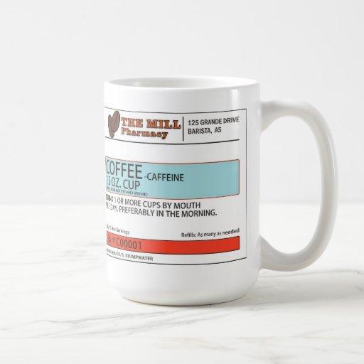 The Original Coffee Prescription Mug -15 oz.