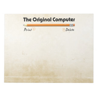 The Original Computer Notepad