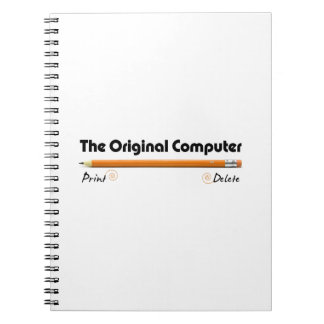 The Original Computer Spiral Notebook