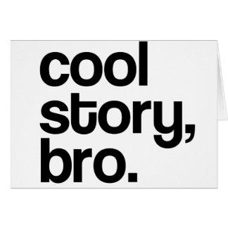 THE ORIGINAL COOL STORY BRO CARDS