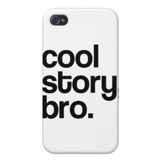 THE ORIGINAL COOL STORY BRO CASES FOR iPhone 4