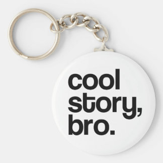 THE ORIGINAL COOL STORY BRO KEY CHAIN