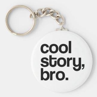 THE ORIGINAL COOL STORY BRO KEYCHAIN