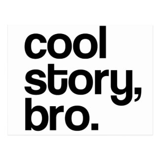 THE ORIGINAL COOL STORY BRO POST CARDS
