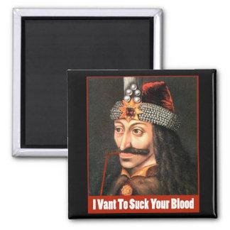 The Original Dracula, Halloween!!! 2 Inch Square Magnet