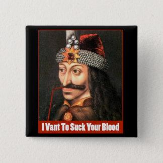 The Original Dracula, Halloween!!! Pinback Button