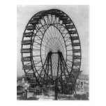 The Original Ferris Wheel At the Columbia Expositi Postcard