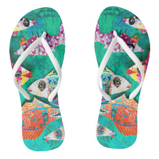 The ORIGINAL Fishy Flops Flip Flops