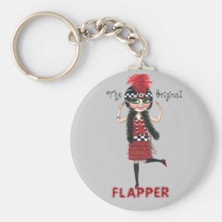 The Original Flapper Roaring '20s Keychain