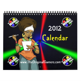 The Original Gamerz 2012 Calendar