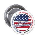 The original homeland security - Second amendment Pin