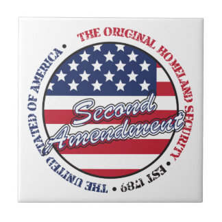 The original homeland security - Second amendment Tile