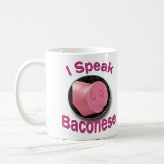 The Original I Speak Baconese Coffee Mug II