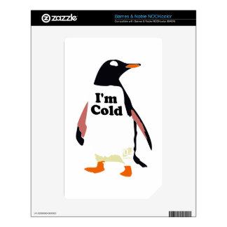 The original I'm cold penguin! Skins For NOOK Color