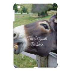 The Original Jackass Funny Donkey Mule Farm Animal iPad Mini Covers