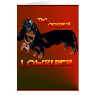 The Original Lowrider Card