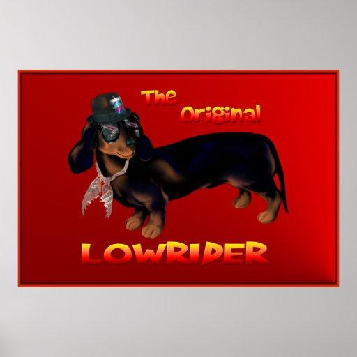 The Original Lowrider Poster