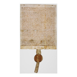 The ORIGINAL Magna Carta 1297 Version Poster