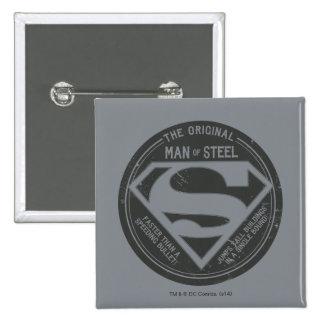 The Original Man of Steel Button