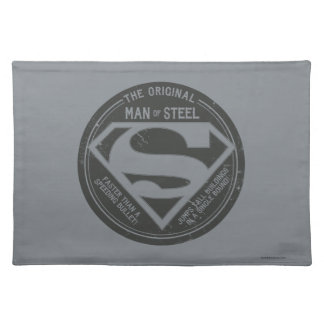 The Original Man of Steel Cloth Placemat