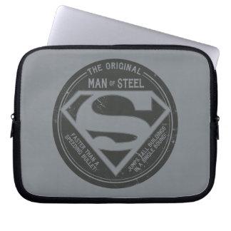 The Original Man of Steel Laptop Sleeves