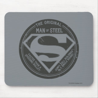 The Original Man of Steel Mouse Pad