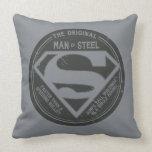The Original Man of Steel Pillow