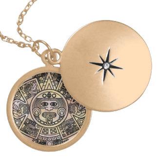 The Original Mayan 2012 Prophesy Calendar Necklace