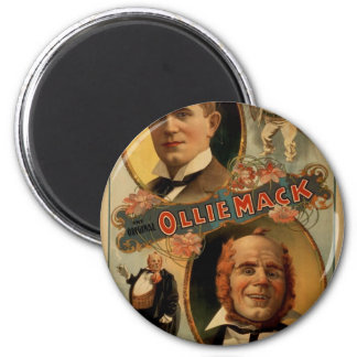 The Original 'Ollie Mack' Vintage Theater Magnets