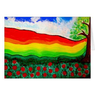 """The original painting """"Espania"""" by Maria Lua Card"""