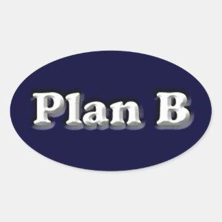 The Original Plan B Sticker