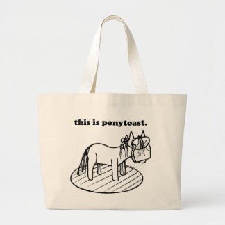The Original Ponytoast! Bags