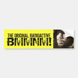 the original radioactive bmmnmper sticker