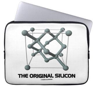 The Original Silicon (Silicon Chemical Molecule) Laptop Computer Sleeves
