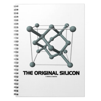 The Original Silicon (Silicon Chemical Structure) Notebook
