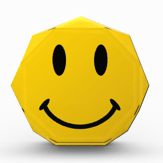 The Original Smiley Face Acrylic Award