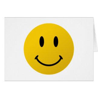 The Original Smiley Face Card
