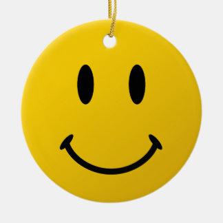 The Original Smiley Face Ceramic Ornament