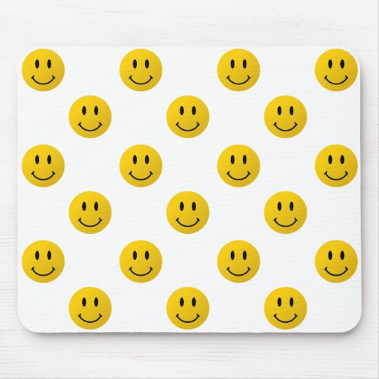 The original smiley face mouse pad