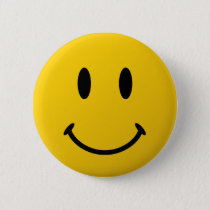 The Original Smiley Face Pinback Button