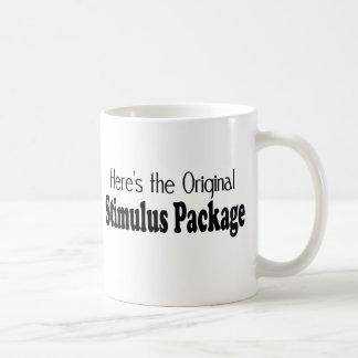 "The Original ""Stimulus Package"" Classic White Coffee Mug"