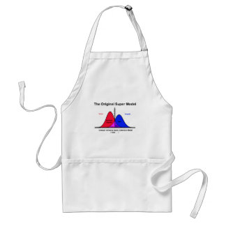 The Original Super Model Adult Apron
