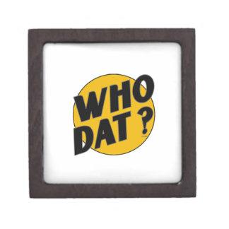"The Original Vintage ""Who Dat?"" Premium Jewelry Box"