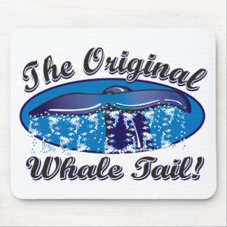 The-Original-Whale-Tail Mouse Pad