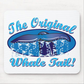 The Original Whale Tail Mouse Pad