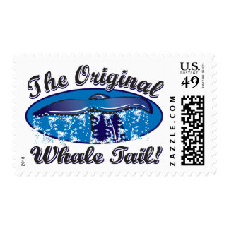 The-Original-Whale-Tail Postage Stamp