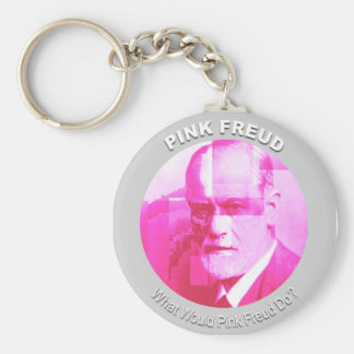 "The Original ""What Would Pink Freud Do?"" Keychain"