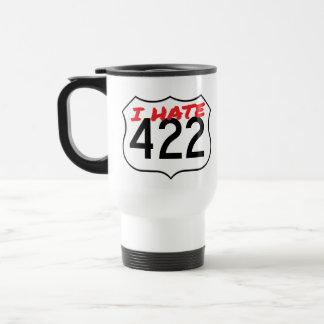 The Original White I Hate 422 Travel Mug