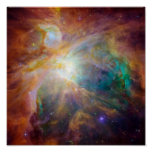 The Orion Nebula 3 Poster