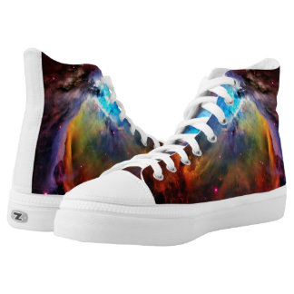 The Orion Nebula High-Top Sneakers